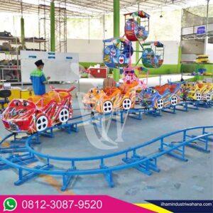 kategori produk kereta lantai mini coaster naik turun